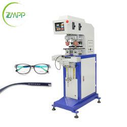 1~2 Printer van het Stootkussen van de kleur de Halfautomatische voor Glazen, de Machine van de Druk van de Zonnebril