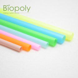 Eco Vriendschappelijke 100% Biologisch afbreekbare Composteerbare PLA die Kleurrijk Stro drinken