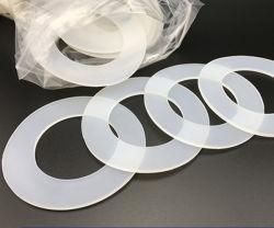 Индивидуальные прозрачные ясно Food Grade плоские силиконовые резиновые шайбы