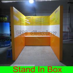 Peso ligero de aluminio modular recto promocional nuevo Display Stand el stand de exposiciones