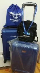 Cassa classica dei bagagli dell'ABS con il blocco per grafici unito in lega alluminio