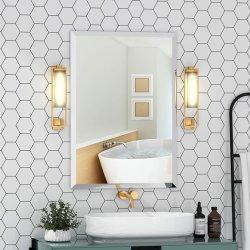 كبيرة بسيط مستطيلة [بفلد] [ولّ هنغ] أفقيّة & شاقوليّ [فرملسّ] مرآة فضة يساعد مستطيلة تفاهة غرفة نوم مرآة