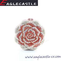 Dama de moda con reborde de flor de noche bolsas / Diamante colorida Rhinestone / Bolso Bolso (CX14223)