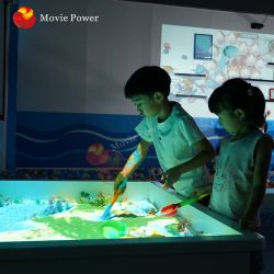 Зал для игр в интерактивной системы AR System для детей интерактивного проецирования песок .