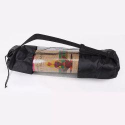 シンプルな宝物の土地クロスボディヨガマットバッグハンドメイド ドローストリングクロージャー - 調節可能ショルダー付き BOHO エクササイズマットキャリア ストラップとポケット