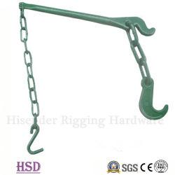 G80 el amarre de la cadena con la palanca y ganchos de amarre