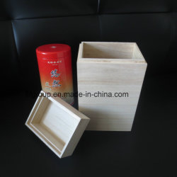 Dozen van de Thee van de Pakketten van de Koffie van de Kleur van de Verpakking van de gift de Natuurlijke Houten Stevige Houten