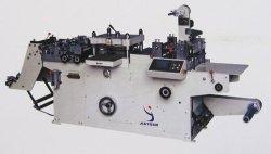 Full-Automatic Roll-Roll libre du ruban adhésif continue de mourir de la faucheuse (JMQ-320B)
