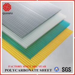 4-12mm Building Material Roofing Sheet Polycarbonate Hollow Sheet