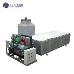 5 tonne/24 h. Machine à glaçons blocs de glace Making Machine avec tour de refroidissement