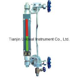 مؤشر مستوى مقياس مستوى المياه ثنائي اللون لكوارتز Glass Tublar