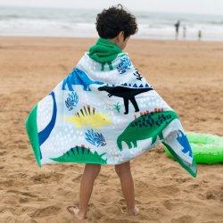Tovagliolo di spiaggia del Terry del velluto di cotone dei capretti di Texpro 2021 del fornitore nuovo