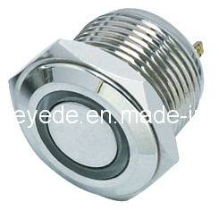 Nuevo tipo 16mm Anti-Vandal Metal LED Lámpara de señal