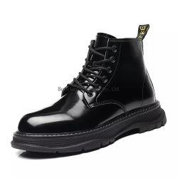 Os homens do trabalho do Equipamento para Engraxar os Sapatos de Casual Moda Botas Calçado em couro de Lazer