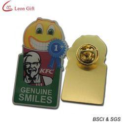 Impresos personalizados insignias para regalo de promoción de latón (LM1720)
