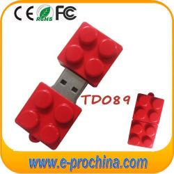 다양한 색상으로 제공되는 미니 큐브 PVC USB 플래시 드라이브 1GB~64GB