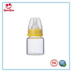 60ml de leite do recém-nascido, garrafa de vidro Mini Alimentador de bebé