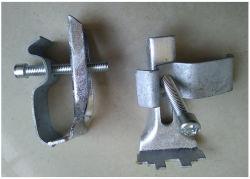 La abrazadera de fijación de rejilla de acero nunca puede eliminarse