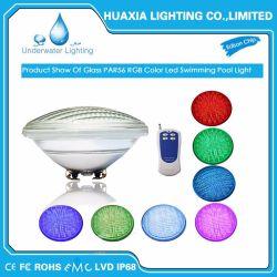 AC12V смены цветов PAR56 светодиод под водой бассейн лампа