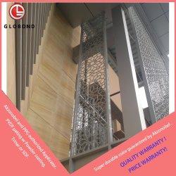 Los paneles de aluminio Perfoated