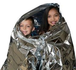 Camping de emergencia portátil kits de supervivencia al aire libre de manta aislante de rescate