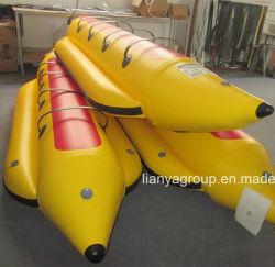 Liya 3.9m-7m 8person 중국 판매를 위한 팽창식 바나나 보트