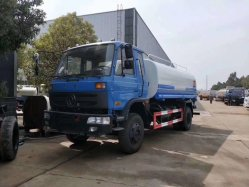 4x2 中古ウォータータンク輸送トラック 10000 リットル水タンク トラック