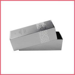 Cura di pelle super riciclata stampata del documento metallico della stagnola del contrassegno privato che impacca casella cosmetica