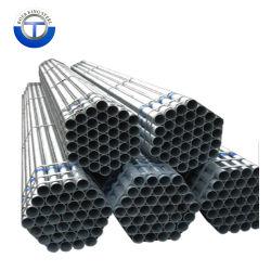 Matériel Q195, Q215, Q235, l'annexe 40 Standard, BS1387, ASTM A500, ASTM A795, ASTM A53, de tuyaux en acier galvanisé de 2 pouces