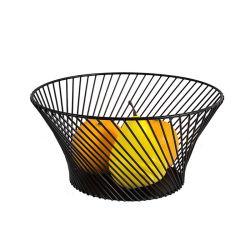 Vielzweckküche-Organisator-kreatives großes Eisen gesponnener Hauptfrucht-Korb-Speicher