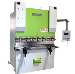 Plaatstaal hydraulisch automatisch CNC-drukrem voor staalplaat, metaalstaal, mild, koolstof, SS, CS