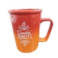 يخزن ضخمة خزفيّة قهوة زاهية منتج حجريّ إبريق مع ملصق مائيّ طبق