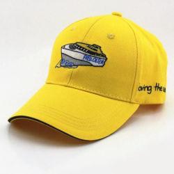 サンドイッチバイザーの昇進のための正常なブラシをかけられた綿のあや織りのスポーツの帽子