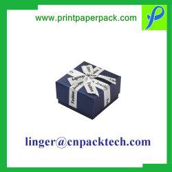 Squisito progettare il contenitore per il cliente di vigilanza di carta cosmetico dei regali dei monili