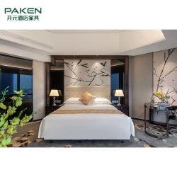 Nach Maß neue chinesische Art-hölzerne Hotel-Luxuxmöbel für Schlafzimmer-Set