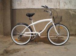 """Frame&Fork: 24'-26"""" Cruiser, ligas de aço Beach Aluguer de bicicleta"""