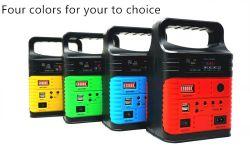 Comercio al por mayor Mini generador solar Outdoor Indoor el alumbrado de emergencia con radio FM