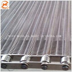 Nastro trasportatore della rete metallica dell'acciaio inossidabile del congelatore dell'alimento