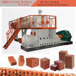 土の泥材料の空のMultiholeの粘土の煉瓦押出機機械