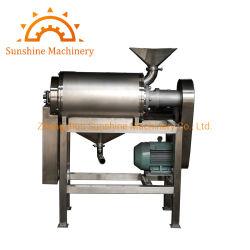Industrial Aloe Vera de pâtes de fruits de goyave à la pâte d'extraction de la machine