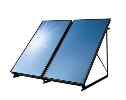 Sonnenkollektor für Heißwasser-Heizung