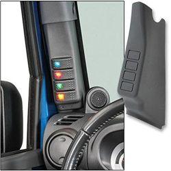 Un pilier de l'interrupteur gauche de la POD pour 2011-2017 Jeep Wrangler