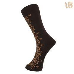 Mens colorido vestido de algodão meias (UBM-026)