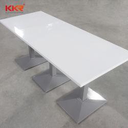 ショッピングモールの工場価格の固体表面のレストランの家具