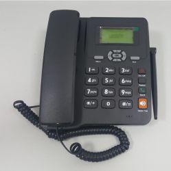 Dual SIM GSM de teléfono fijo inalámbrico multilingüe con