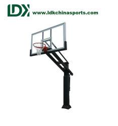 Basketball-Ausbildungsanlage-ausgeglichenes Glas justierbares Inground Basketball-Band