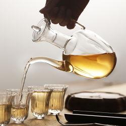1200ml China Art Pyrex Borosilicat-Glas-Teekanne mit Glasgriff