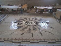 中国Natural Stone Pattern Mosaic FloorかWall Tiles水Jet Decoration