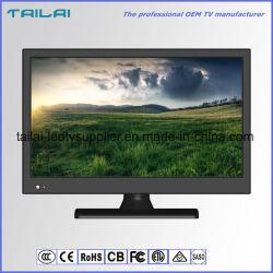 """Schmales 16:9 der Anzeigetafel 15.6 """" energiesparender breiter Bildschirm ATSC Dolbydigital LED Fernsehapparat"""