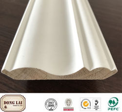 건축재료 중국 공장 공급 고품질 경쟁가격 Ab 급료 목제 천장 처마 장식 조형